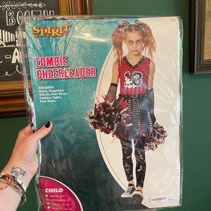 Zombie Cheerleader Costume Child Medium 8-10 (NEW!)